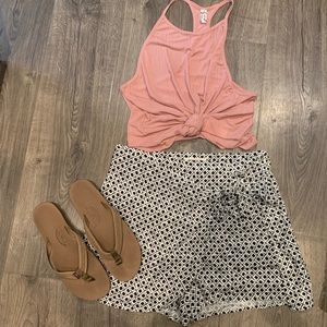 Urban outfitters wrap shorts